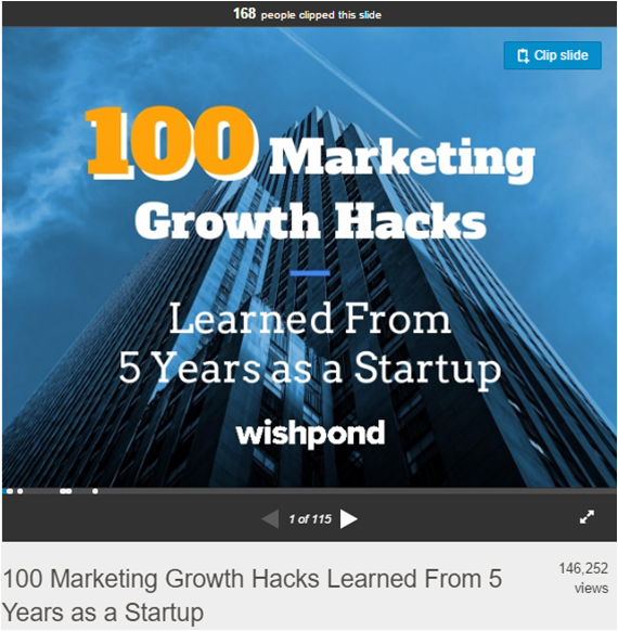 Marketing Growth Hacks