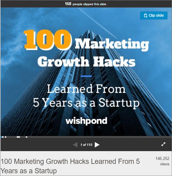 Marketing Growth Hacks