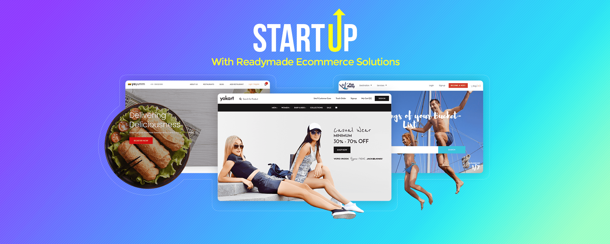 Live the startup dream – Start your online business with these ready to launch ecommerce systems