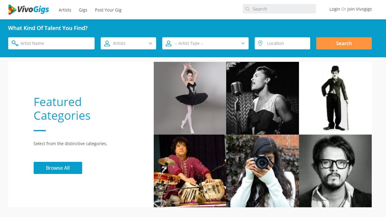 VivoGigs_homepage