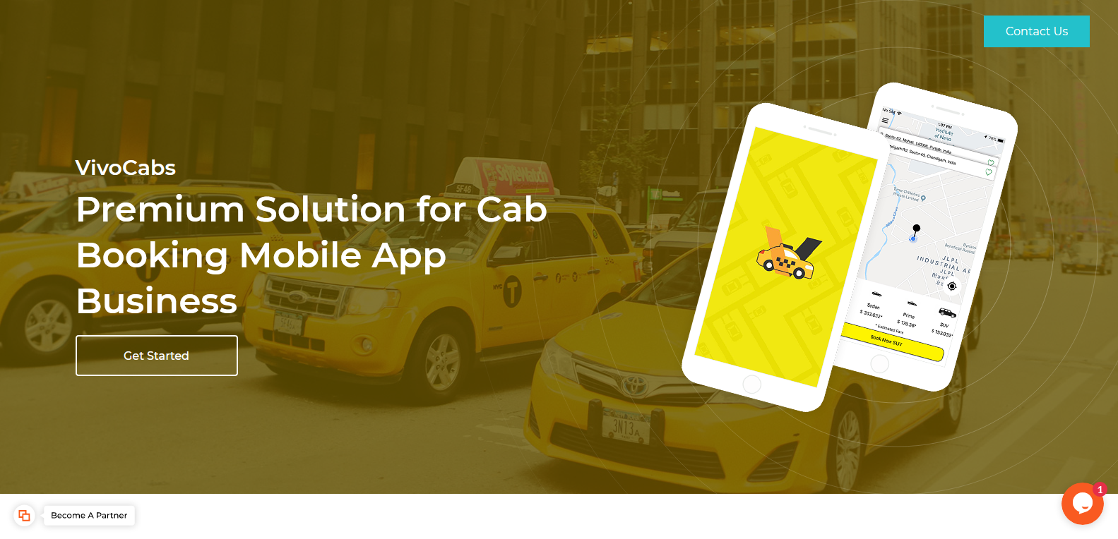reliable solution to launch taxi-cab booking mobile apps