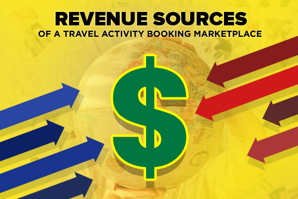 revenue stream travel booking website