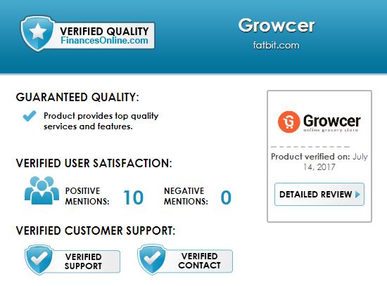 Finances Online Growcer