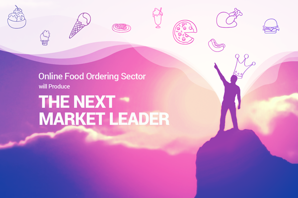 Next market leader from online food ordering sector