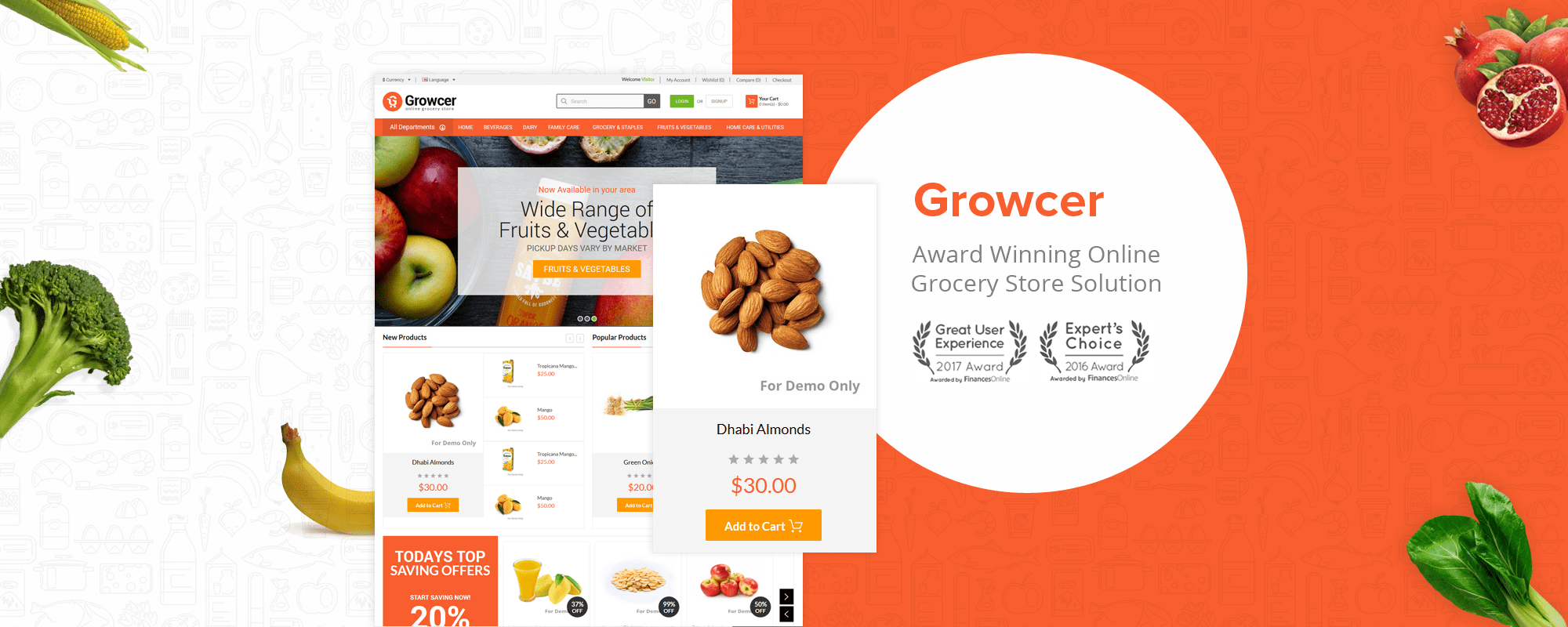 Growcer: The Perfect Software to Set up Your Online Grocery Store