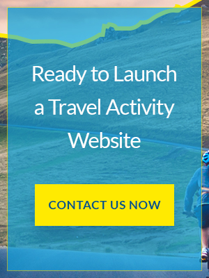 Ready to launch Travel activity website