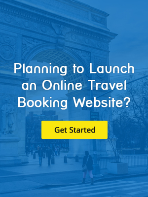 start your travel booking website