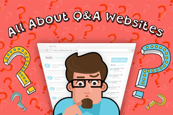 All about Q&A websites