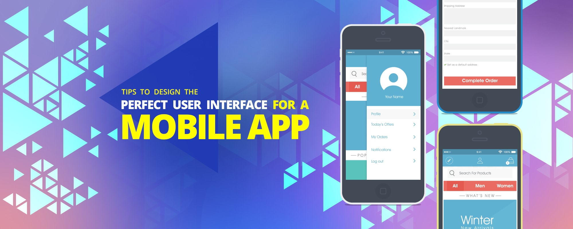 Guidelines To Develop An Intuitive User Interface For Mobile Application