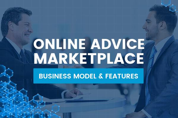 Advice Marketplace Business Model