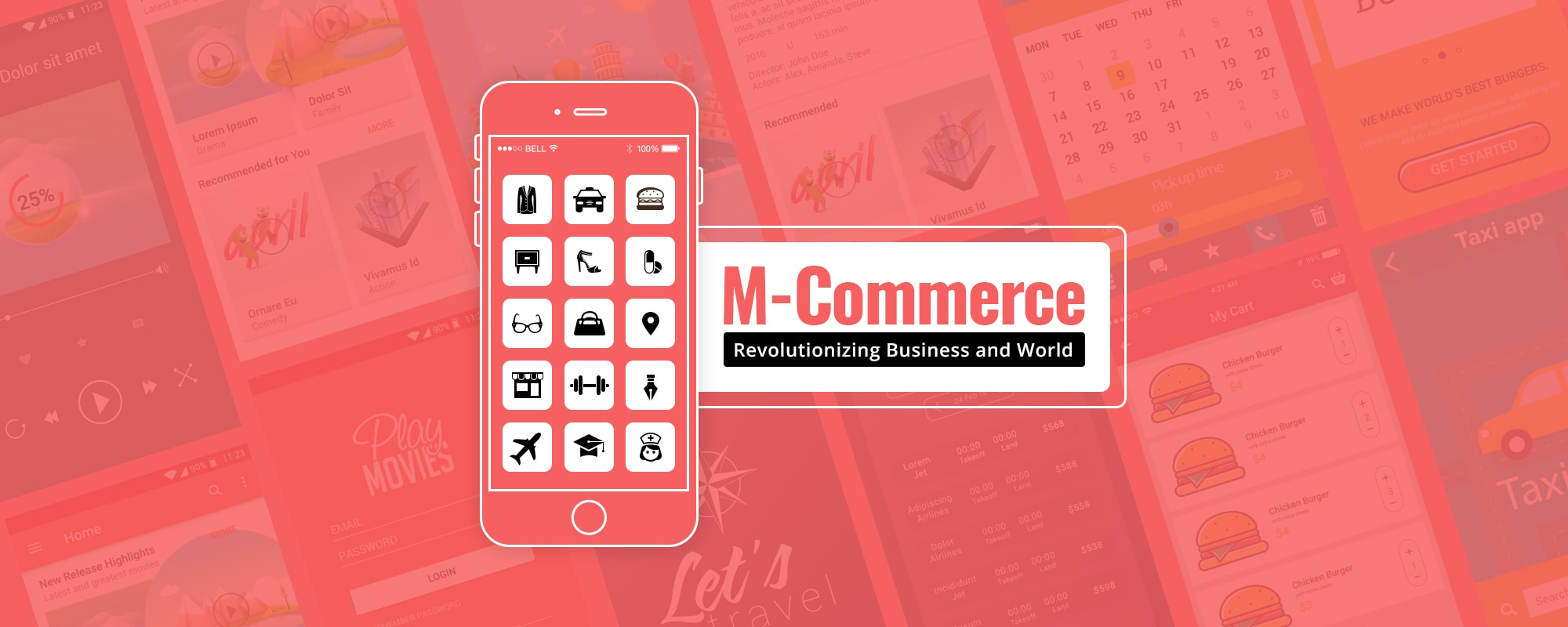 How mobile commerce is helping revolutionise different sectors
