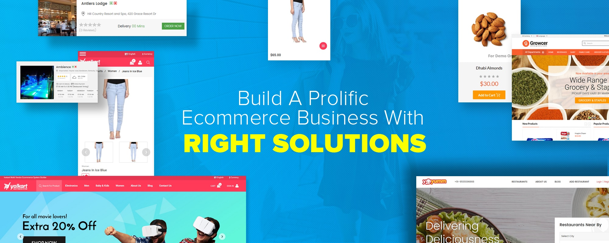 Make Your Own Store Website with FATbit's Affordable eCommerce Platforms