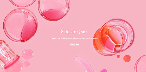 quizzes on an eCommerce store