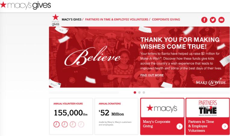 Charity- Macy's