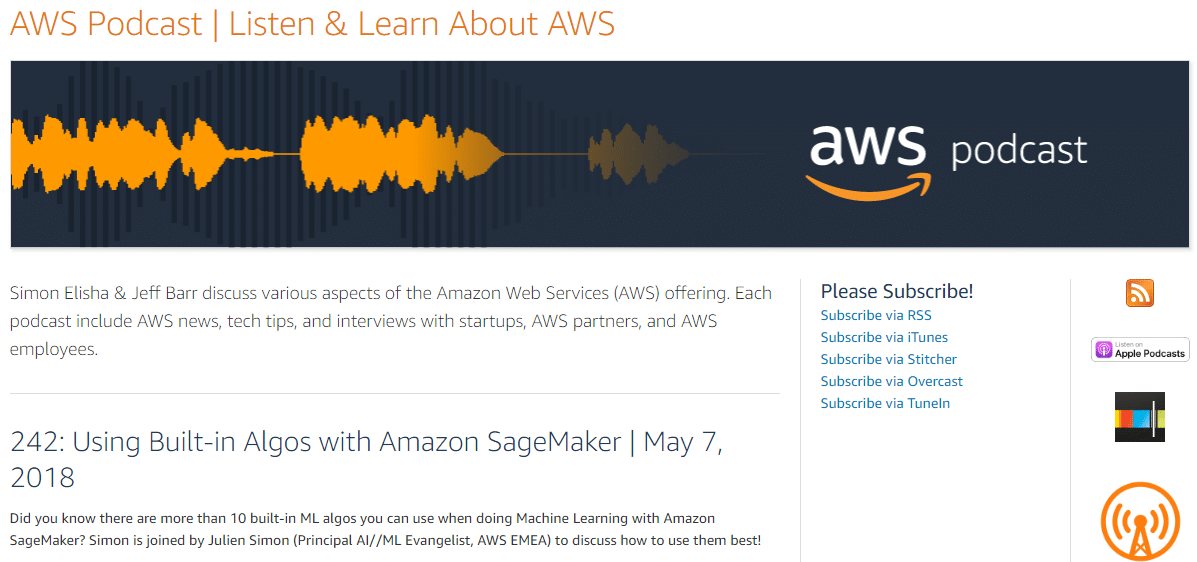 Podcast-AWS