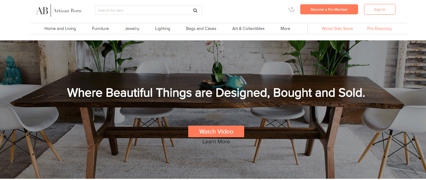 fabb sofas opens debut store and launches website interior website Artisan Born u2013 Customized Furniture Website