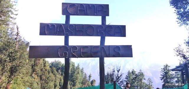 Camp Mashobra Greens