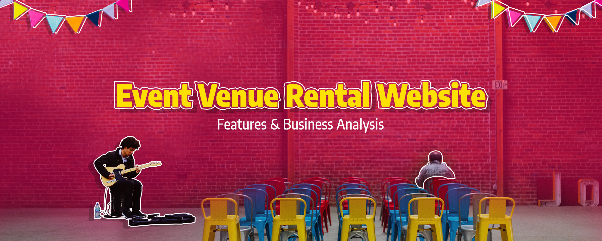 Events Venue Rental Website – Features and Business Model