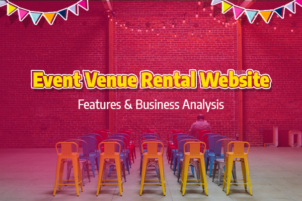 Online Event Venue Rental Website