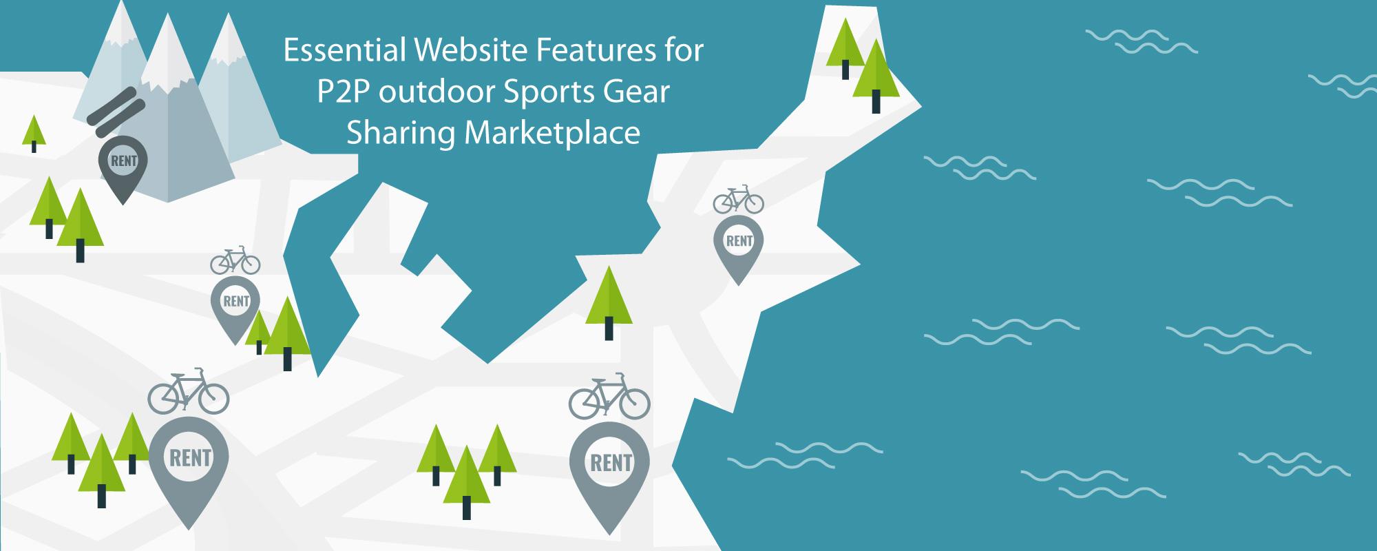 Build P2P Online Bike  Rental Marketplace – Business Model & Key Features Analysis