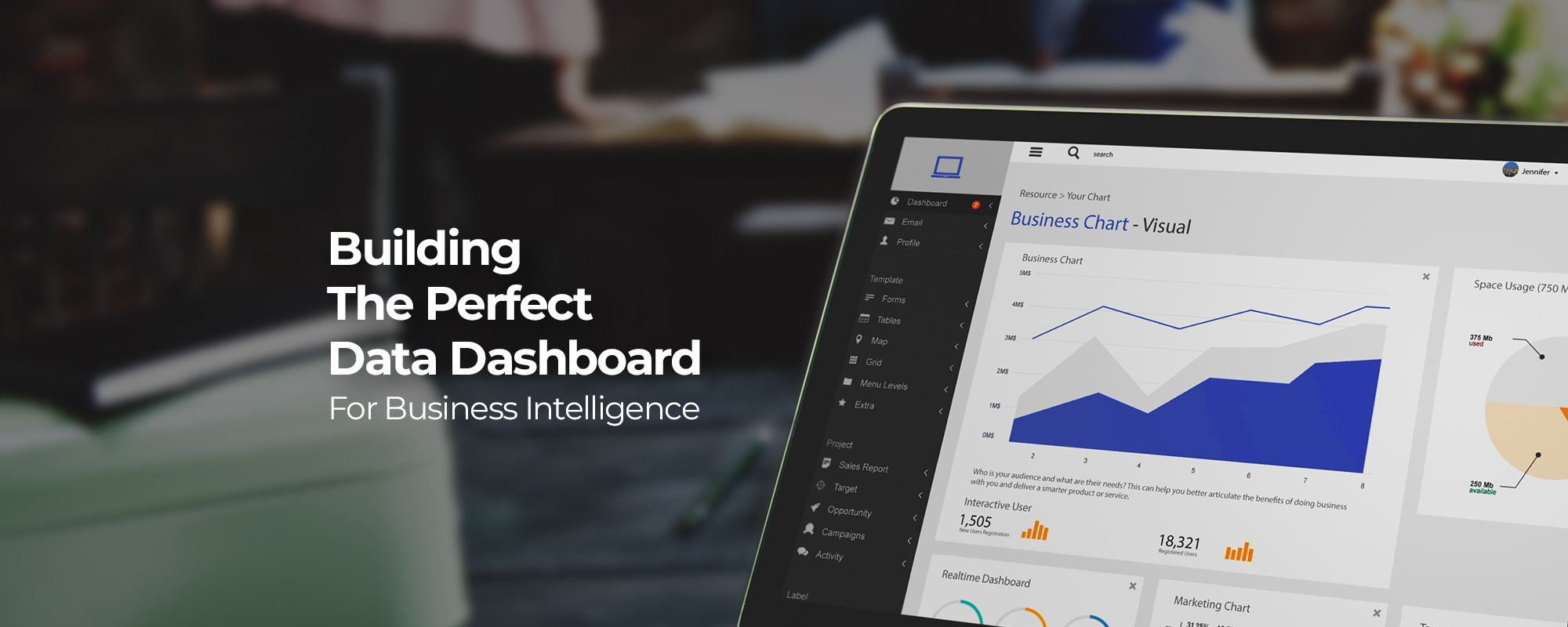 Building the Perfect Data Dashboard for Business Intelligence