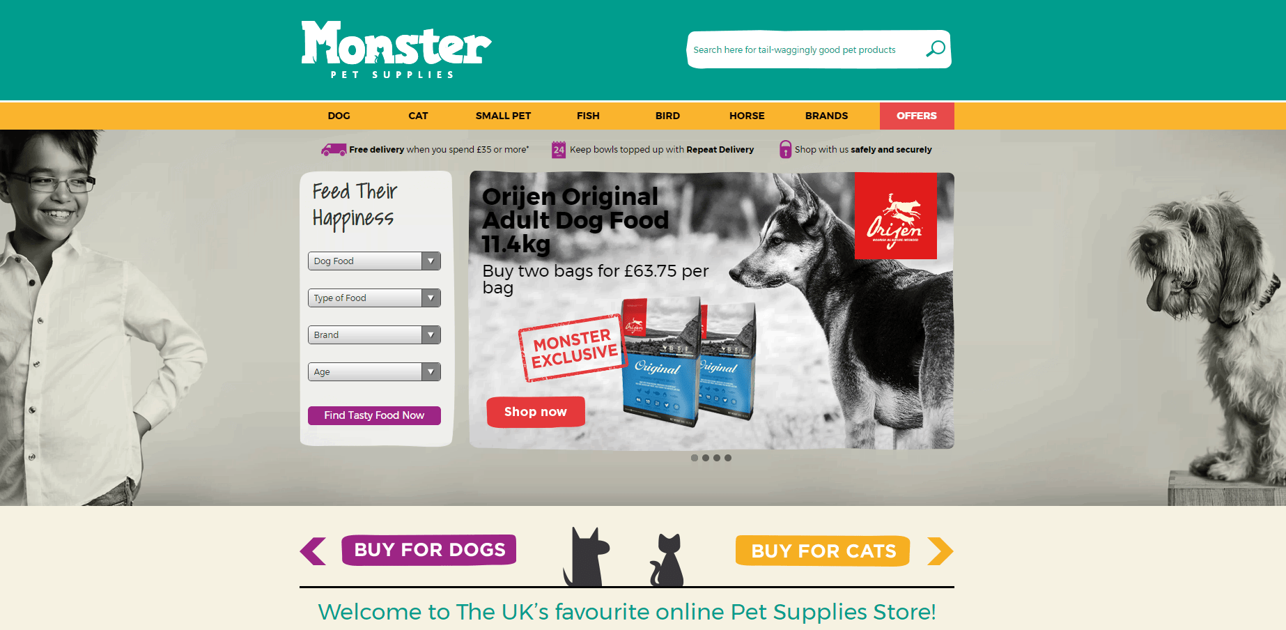 monster-pet-supplies-homepage