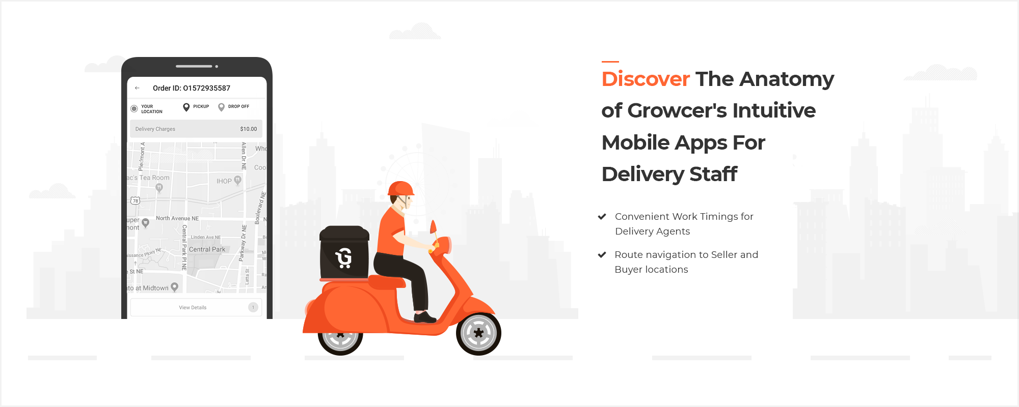Growcer Now Comes with Interactive Mobile Apps for Delivery Agents