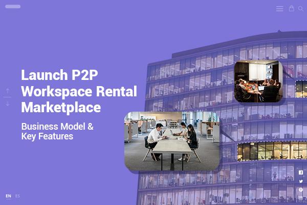Launch workspace rental marketplace