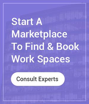 Start workspace rental marketplace