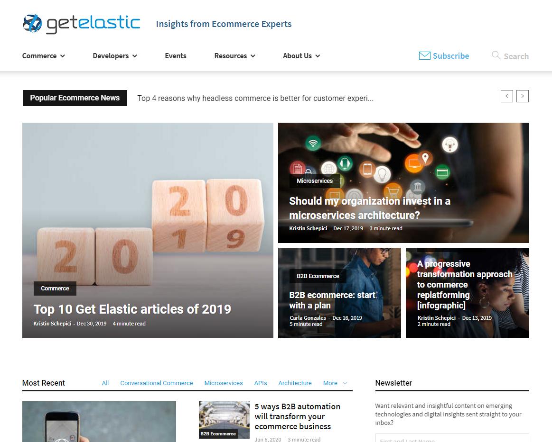 Get Elastic Blog