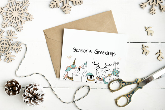Cute Seasons Greetings card