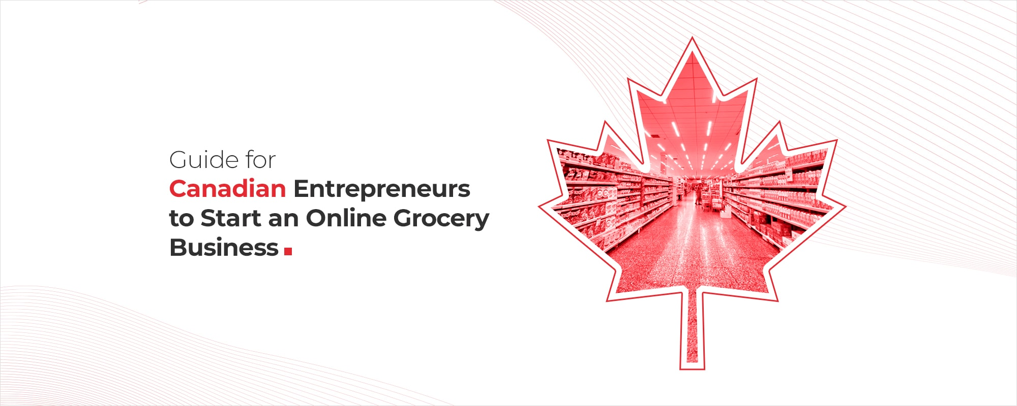 A Guide For Canadian Entrepreneurs To Start An Online Grocery Business