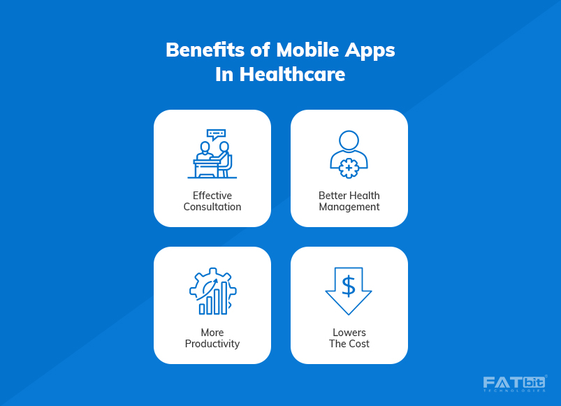 1- Benefits of mobile apps in Healthcare