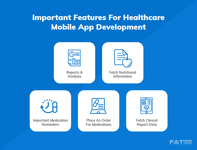 4-Important feature for healthcare mobile app development