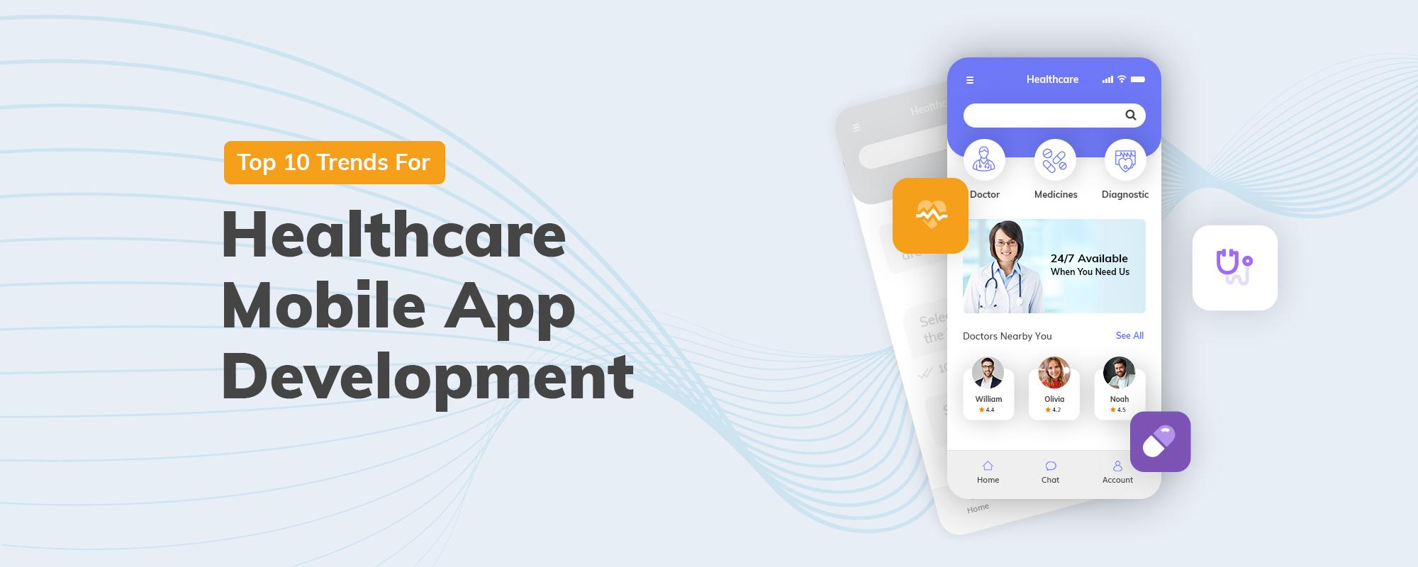 Top 10 Healthcare Mobile App Development Trends in 2020