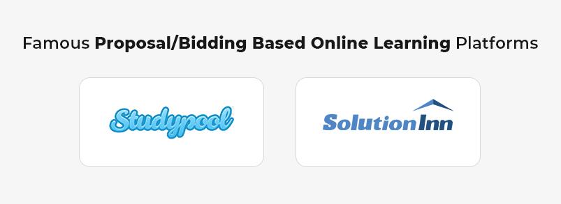 Famous Proposal_Bidding Based Online Learning platforms