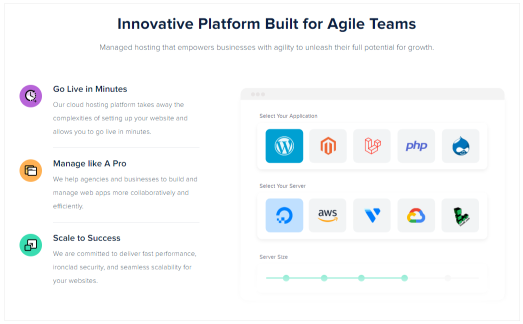 Innovative Platforms Built for Agile Teams