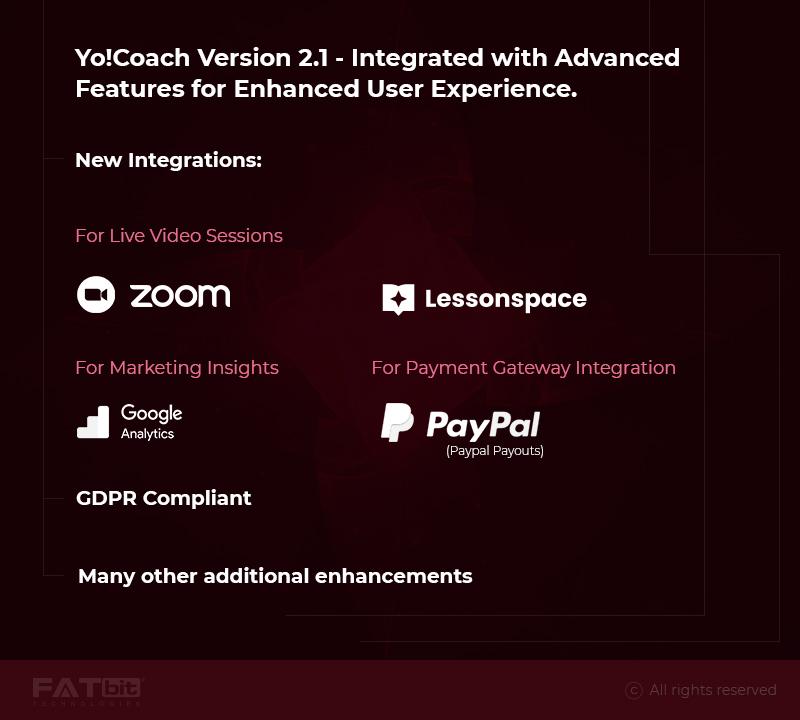 Yo!Coach 2.1 Release-