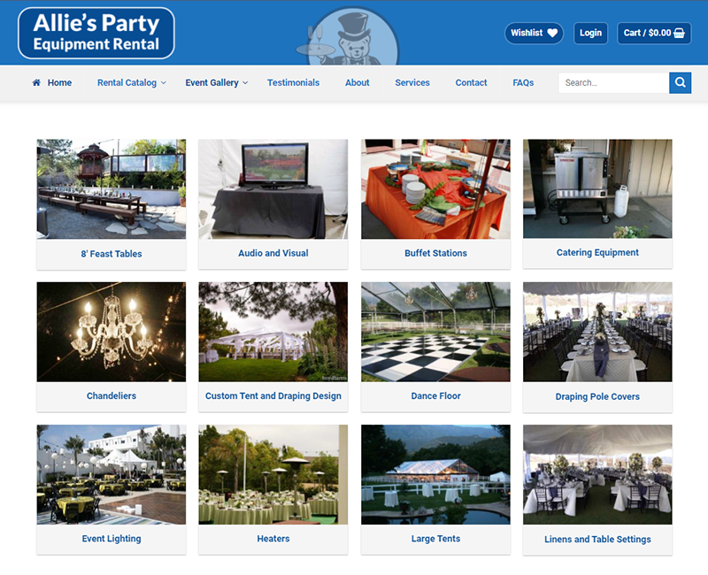 Event Gallery - Party Rental Business