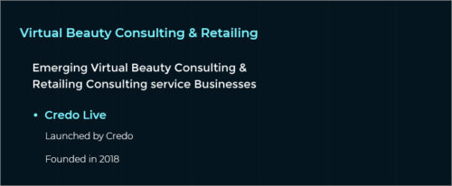 Virtual Beauty Consulting & Retailing