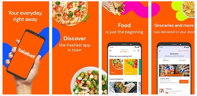 talabat app store