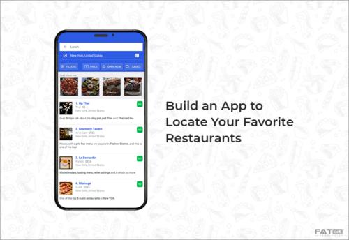 Locate Restaurant App