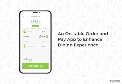 On-table order app
