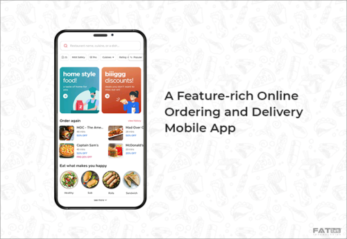 Ordering and Delivery App