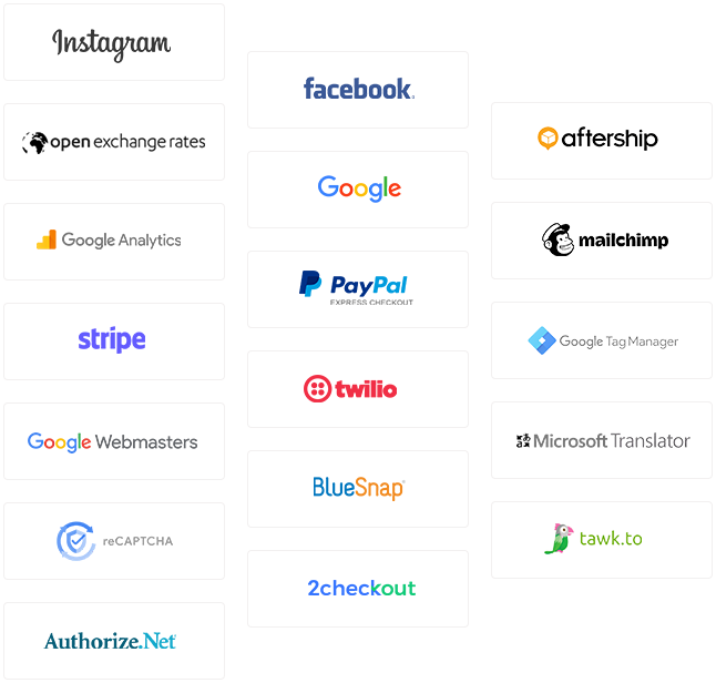 Tribe free eCommerce software solution API integrations