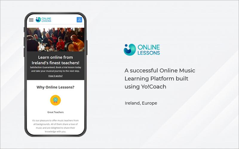 online lessons- YO!COACH