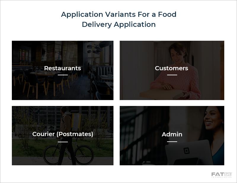 App Variants - Postmates Food Delivery App
