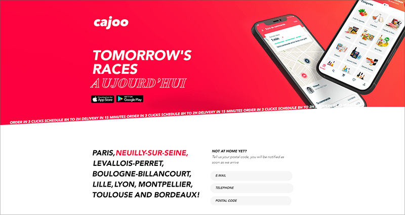 Grocery Delivery Startups - Cajoo