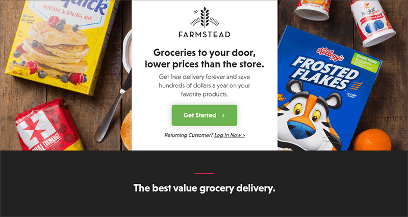 Grocery Delivery Startups - Farmstead
