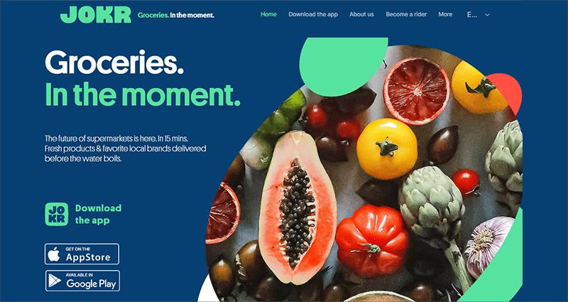 Grocery Delivery Startups - Jokr